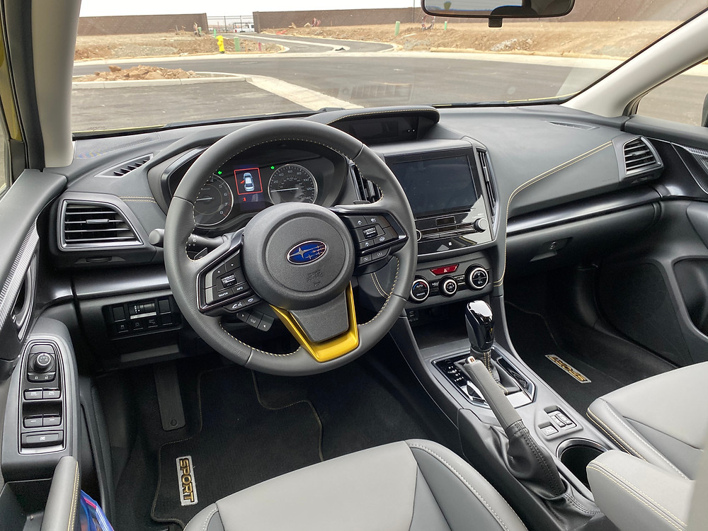 2021 Subaru Crosstrek Sport instrument panel