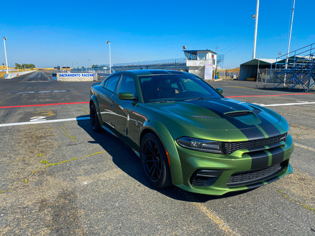 Muscle. Mass. The 2020 Dodge Charger SRT Hellcat Widebody