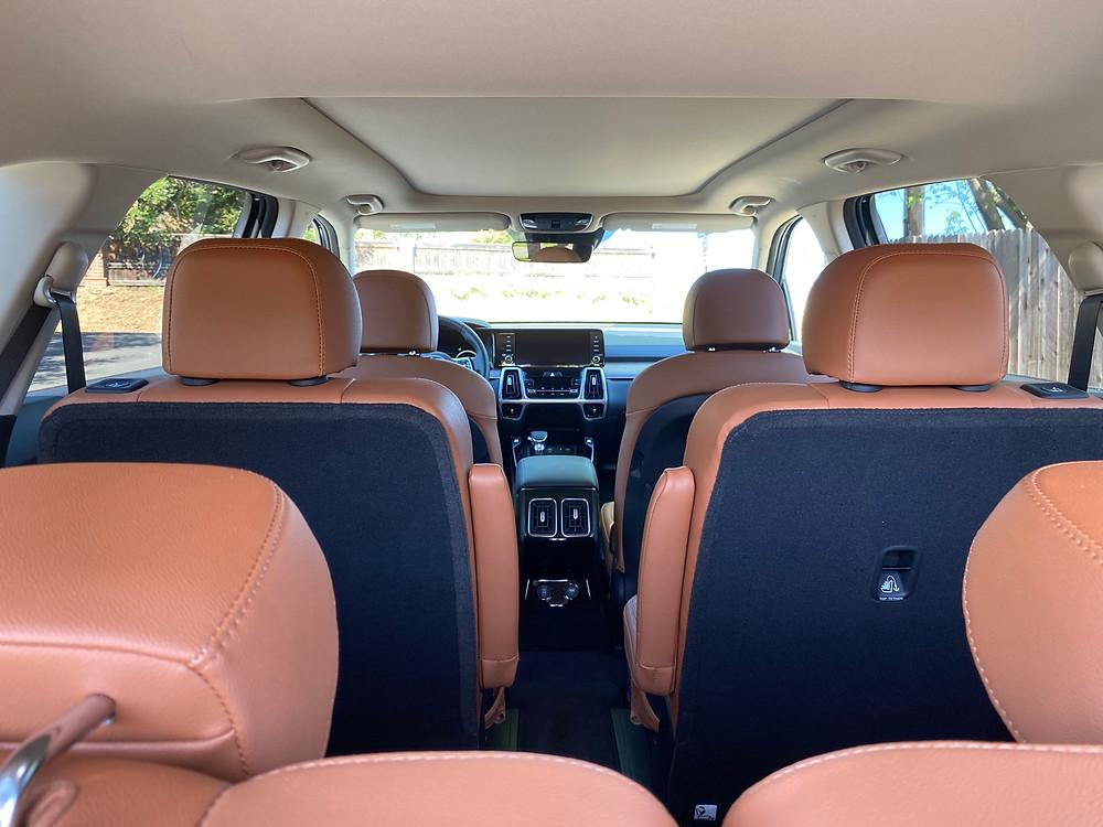 2021 Kia Sorento X-Line AWD interior