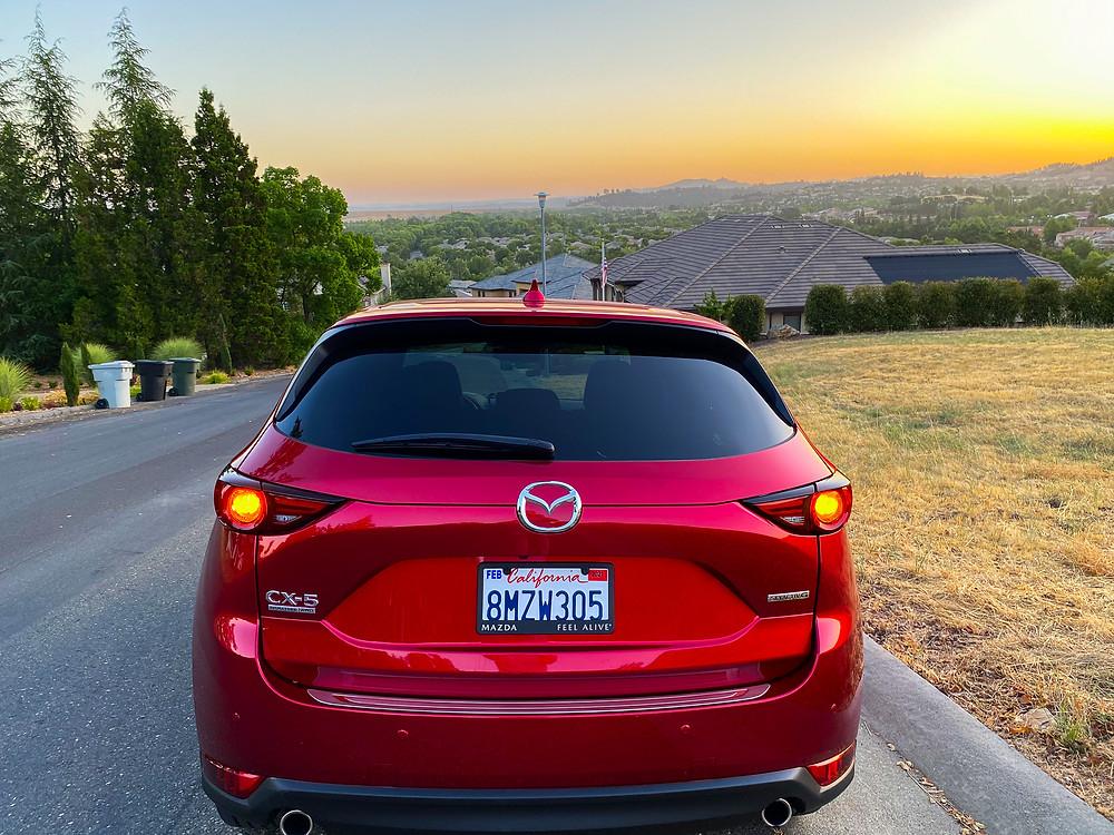 2020 Mazda CX-5 Signature AWD rear view