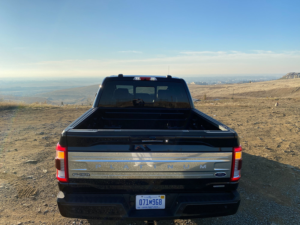2021 Ford F-150 4X4 Supercrew rear view