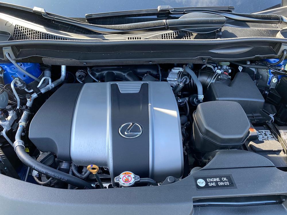 2021 Lexus RX 350 F SPORT Black Line engine