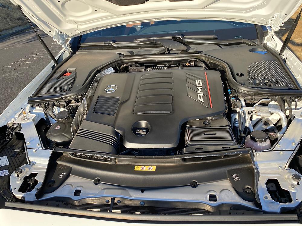2021 Mercedes-AMG E53 Cabriolet engine