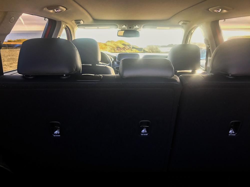 2020 Hyundai Santa Fe Limited 2.0T interior