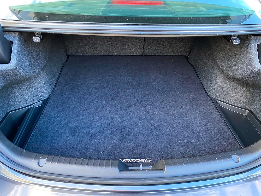 2020 Mazda 6 Signature trunk
