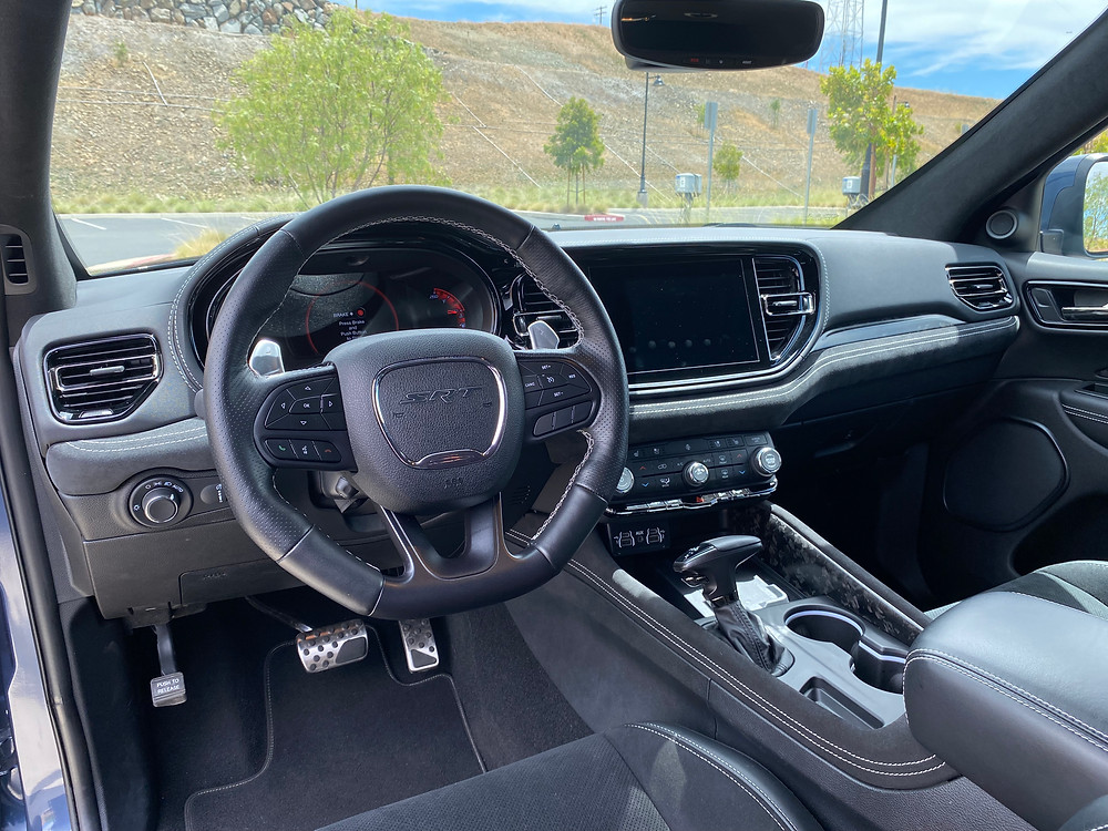 2021 Dodge Durango SRT Hellcat AWD instrument panel
