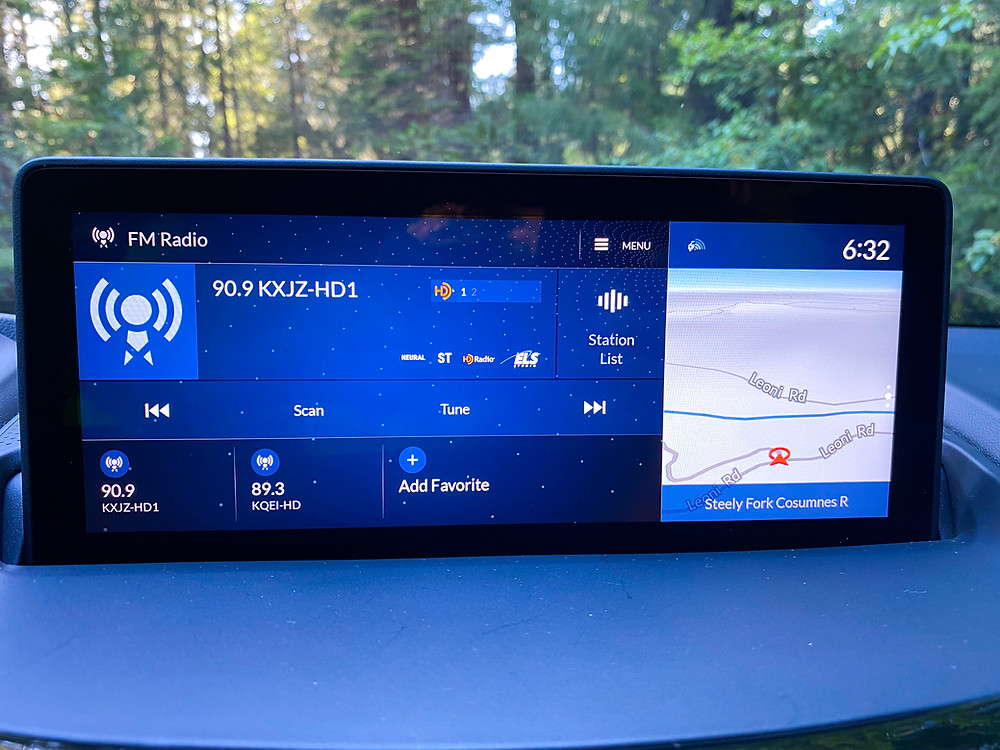 2020 Acura RDX SH-AWD A-Spec infotainment/nav screen