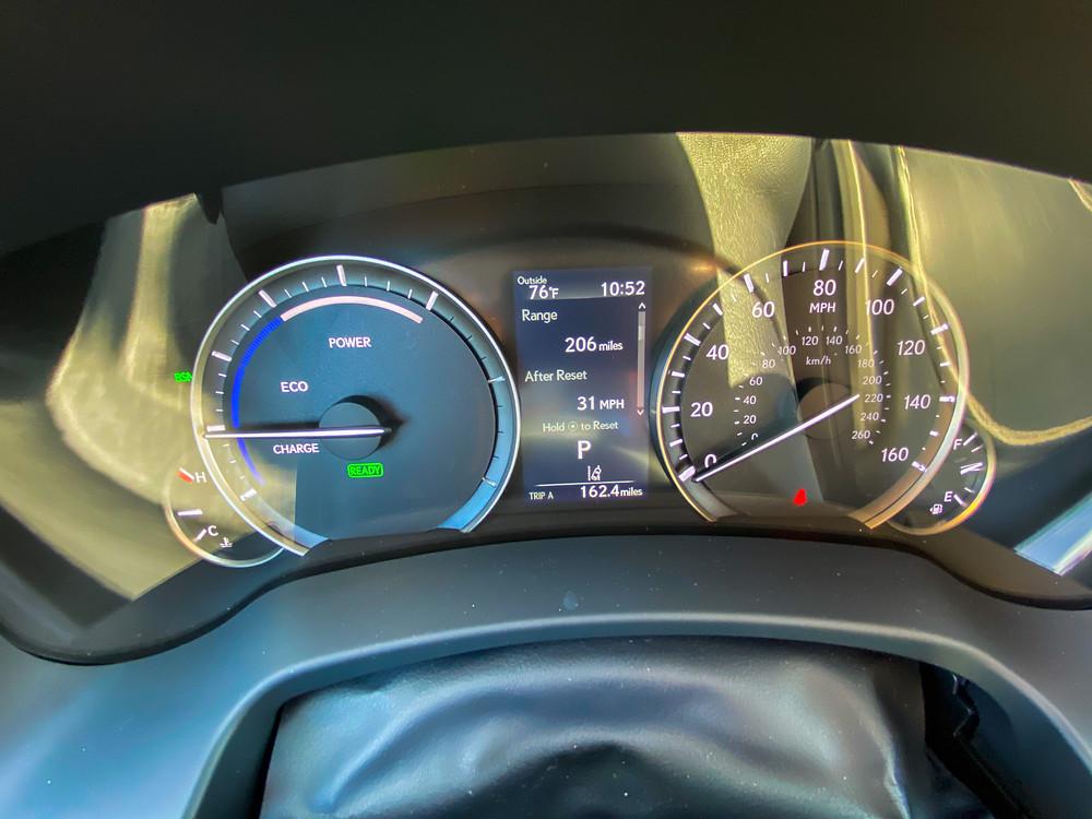 2020 Lexus RX 450hL gauge cluster