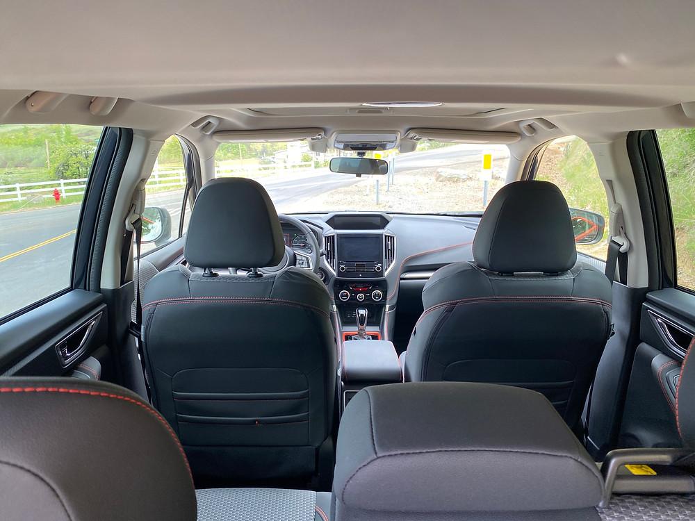2021 Subaru Forester Sport interior