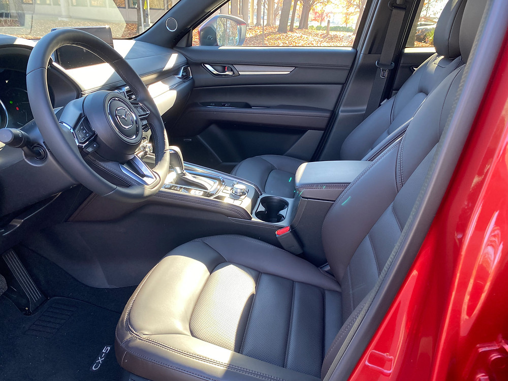 2021 Mazda CX-5 Signature AWD front seats