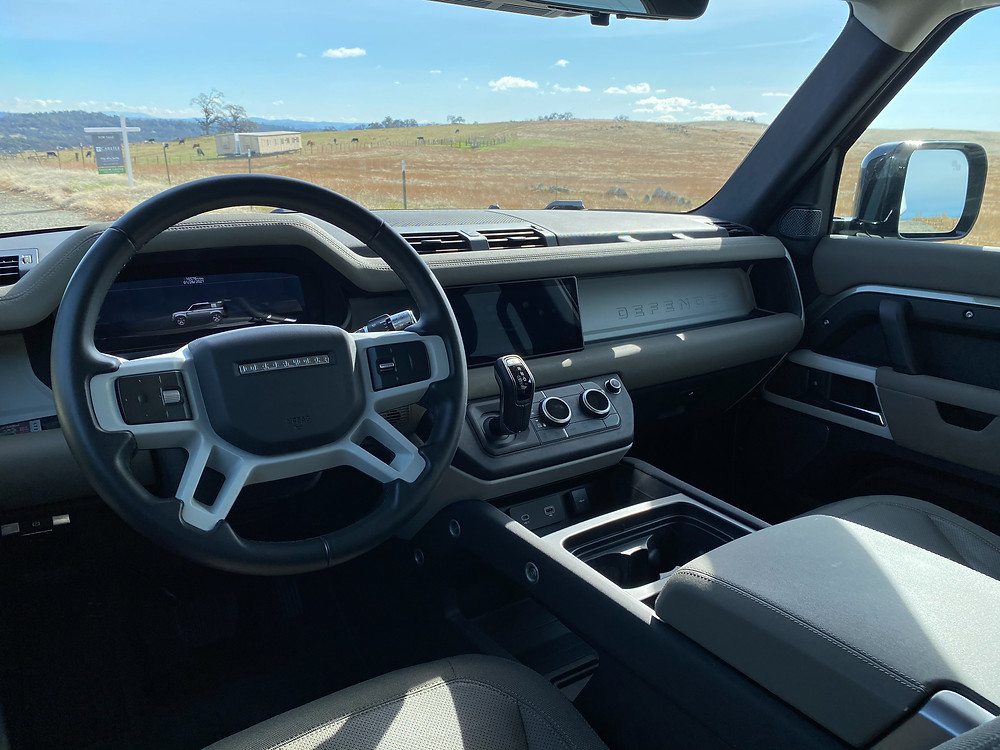 2020 Land Rover Defender 110 SE instrument panel
