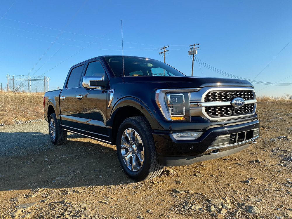 2021 Ford F-150 Supercrew front 3/4 view