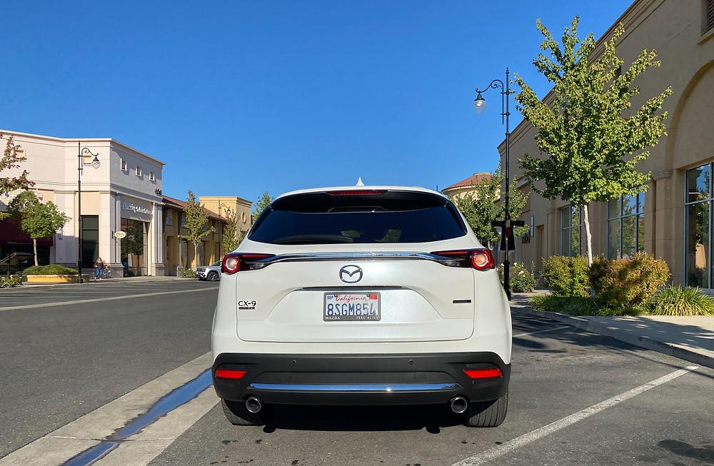 2021 Mazda CX-9 Signature AWD rear view