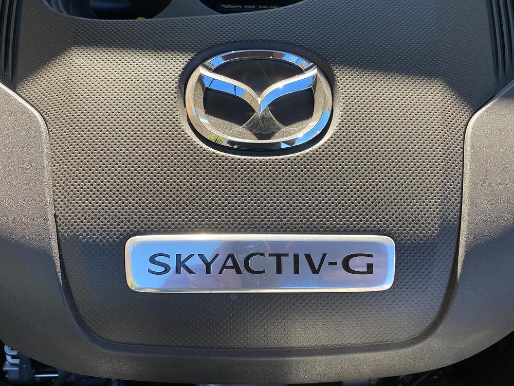 2021 Mazda CX-9 Signature AWD engine detail