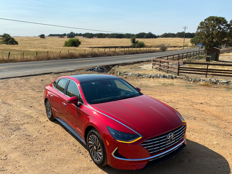 Range on the Roof: The 2020 Hyundai Sonata Hybrid Limited