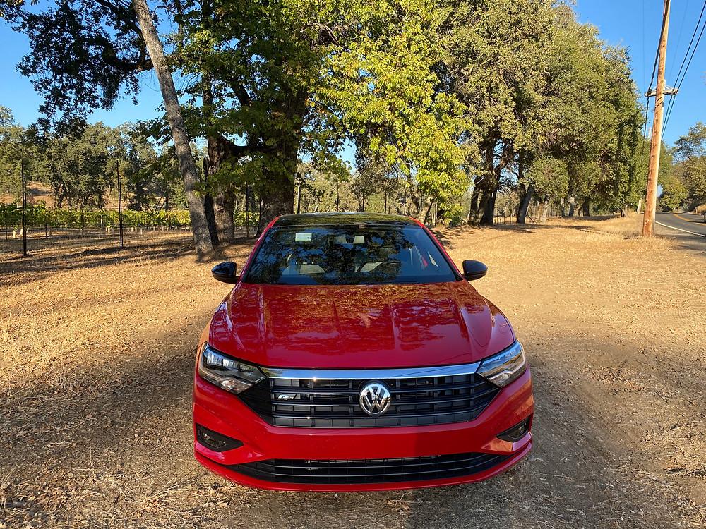 2020 Volkswagen Jetta 1.4T R-Line front view