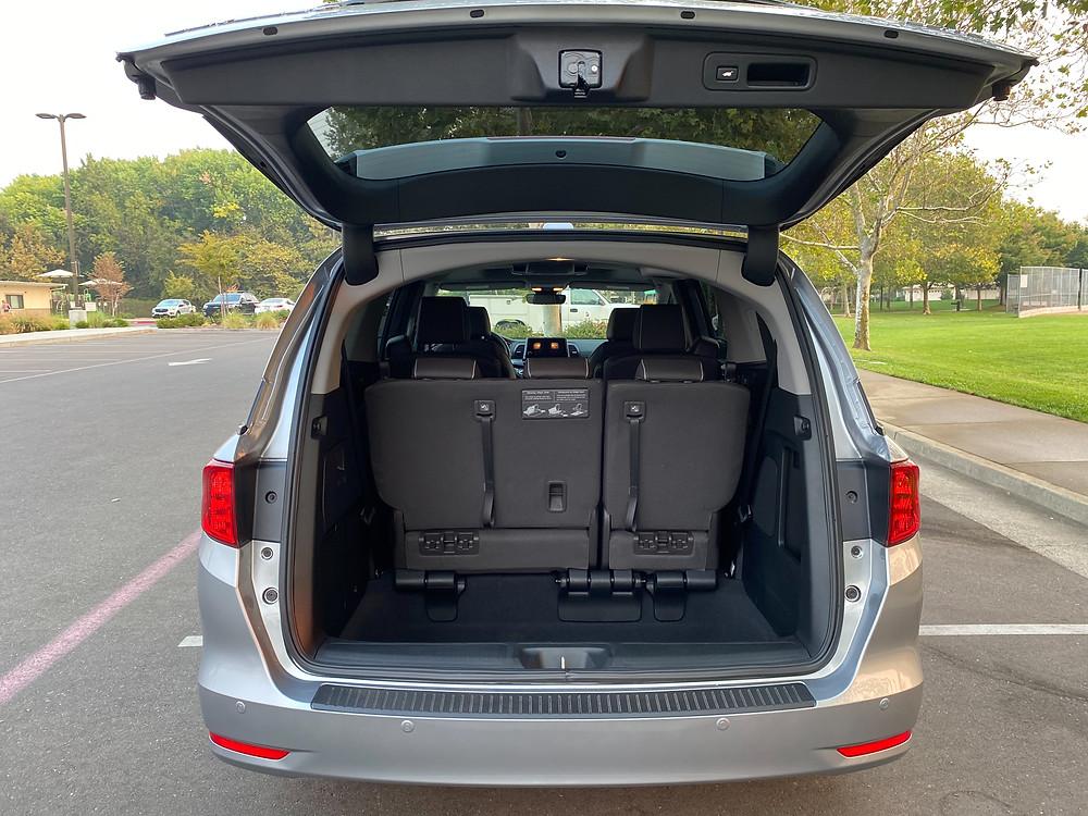2021 Honda Odyssey Elite liftgate open