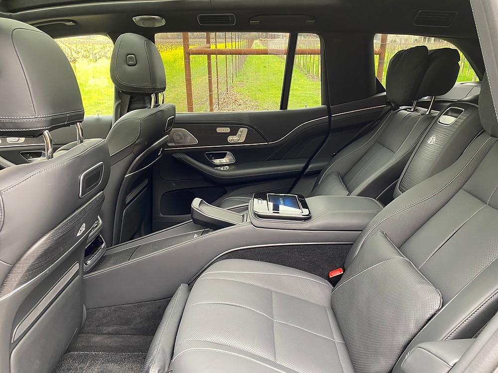 2021 Mercedes-Maybach GLS 600 4MATIC rear seats