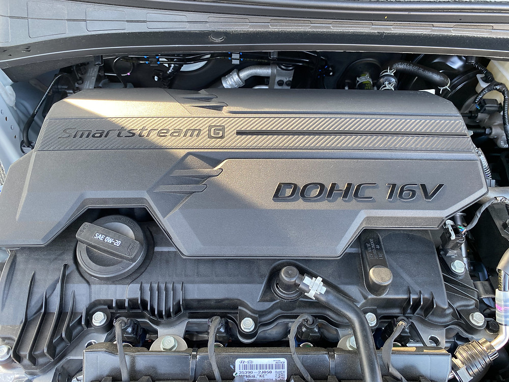 2021 Hyundai Elantra Limited engine detail