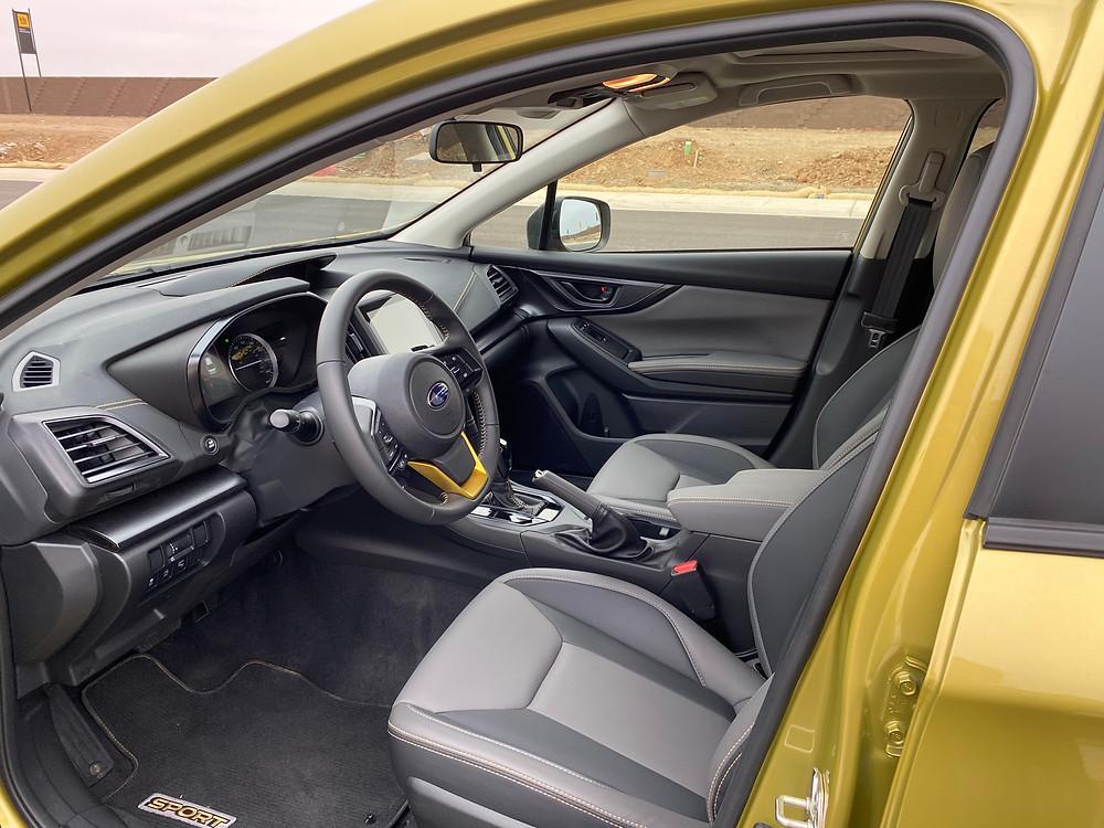 2021 Subaru Crosstrek Sport front seats