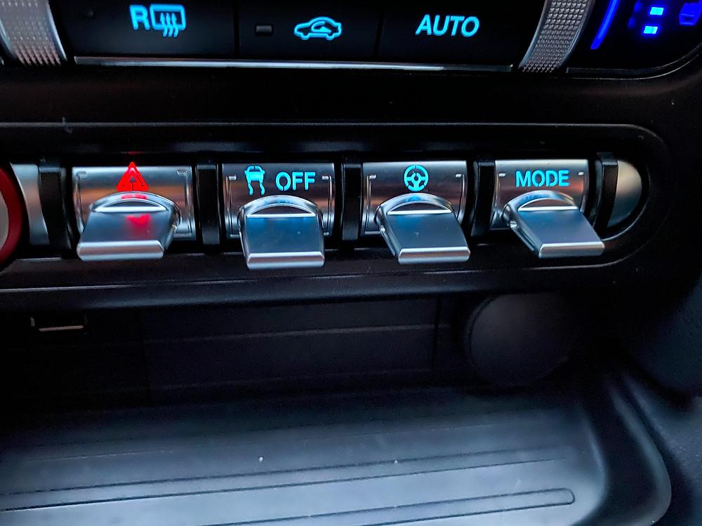 2020 Ford Mustang BULLITT swtichgear