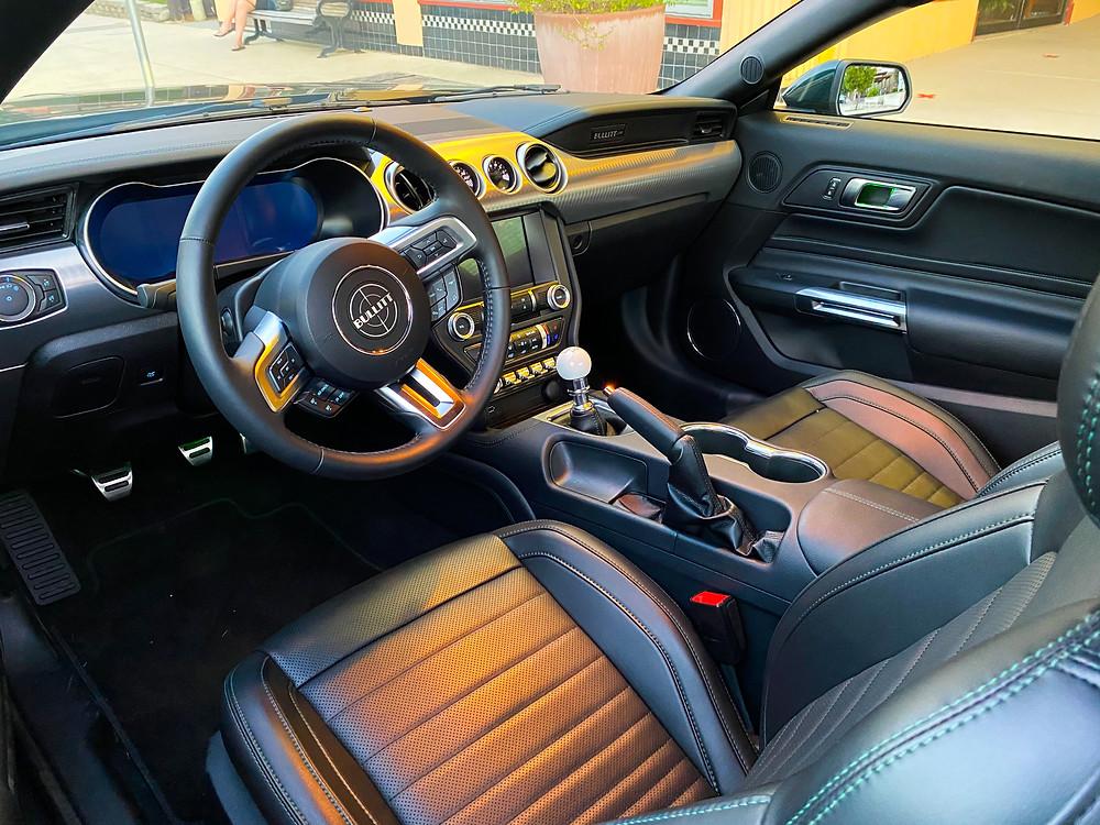 2020 Ford Mustang BULLITT interior