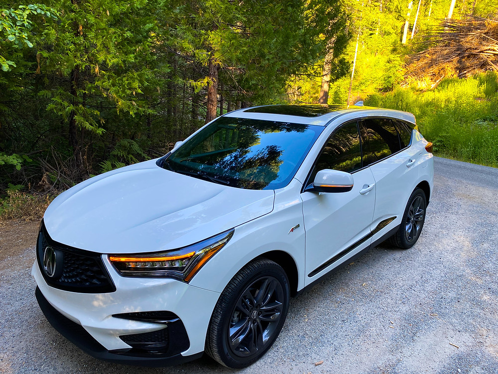 2020 Acura RDX SH-AWD A-Spec front 3/4 view