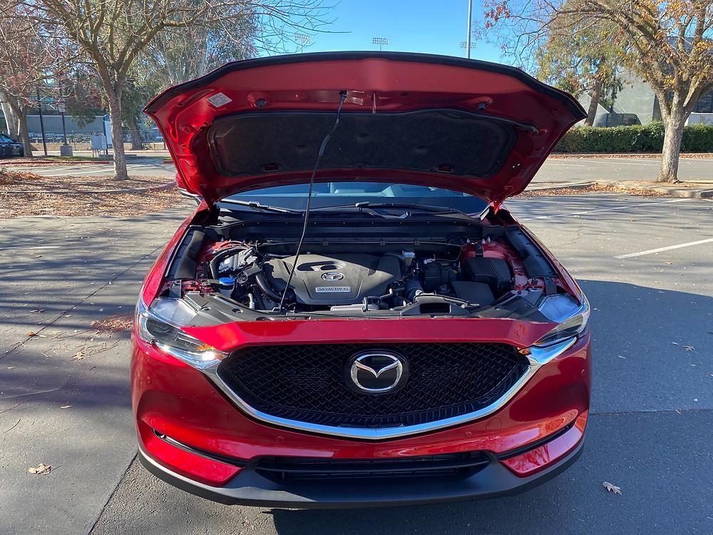 2021 Mazda CX-5 Signature AWD hood up