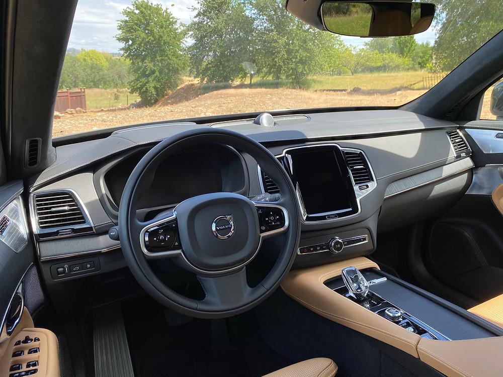 2021 Volvo XC90 Recharge T8 Inscription instrument panel