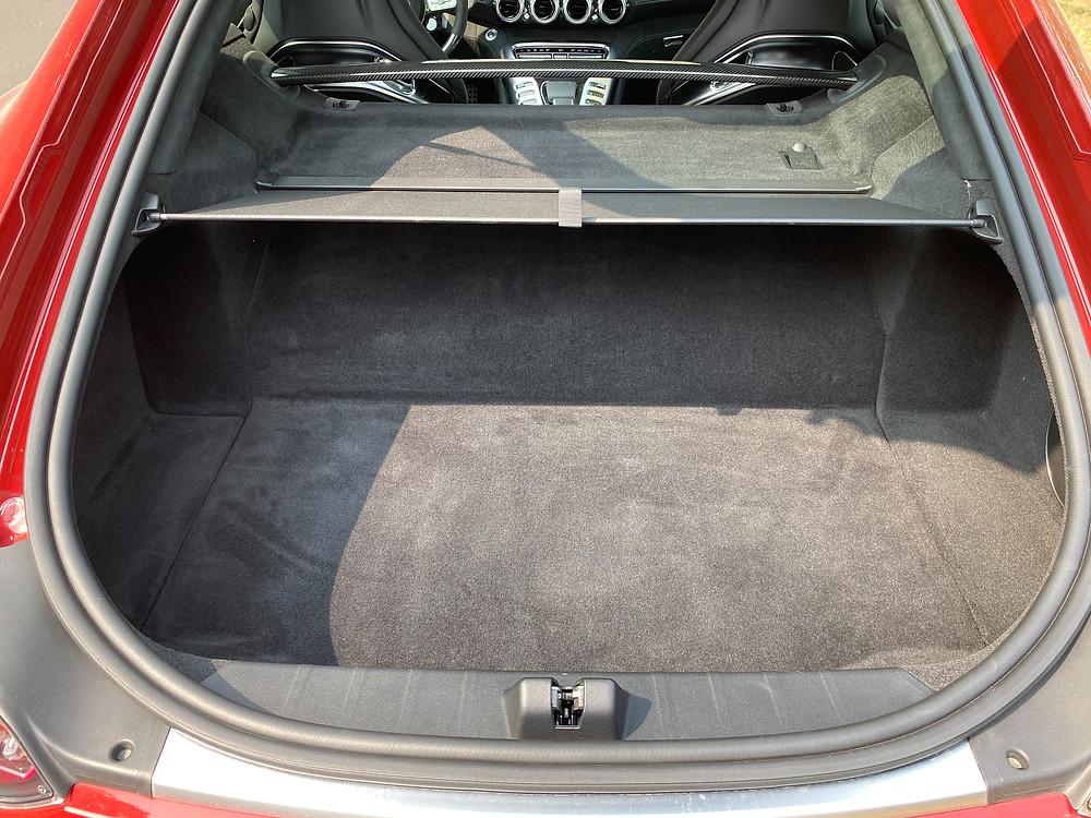 2020 Mercedes-AMG GT C cargo area