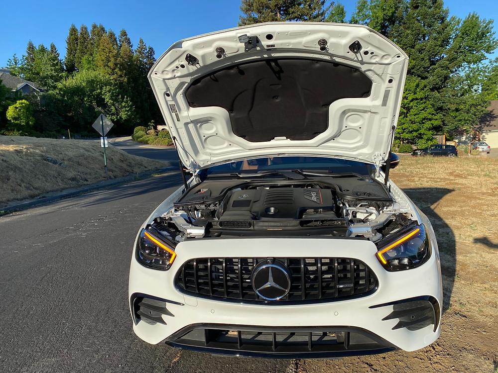 2021 Mercedes-AMG E53 Cabriolet hood up