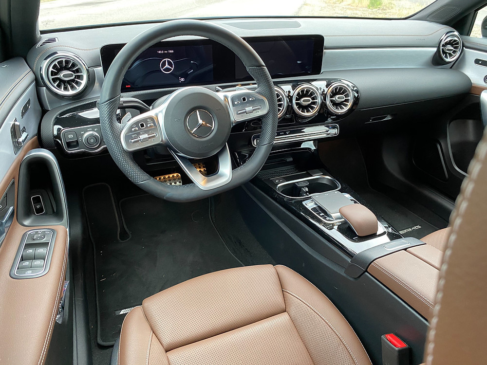 2020 Mercedes-Benz A220 Sedan instrument panel