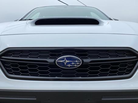 30 Minutes With: The 2020 Subaru WRX Series.White