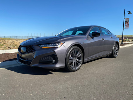 Are We There Yet?  Yes. The 2021 Acura TLX SH-AWD A-Spec