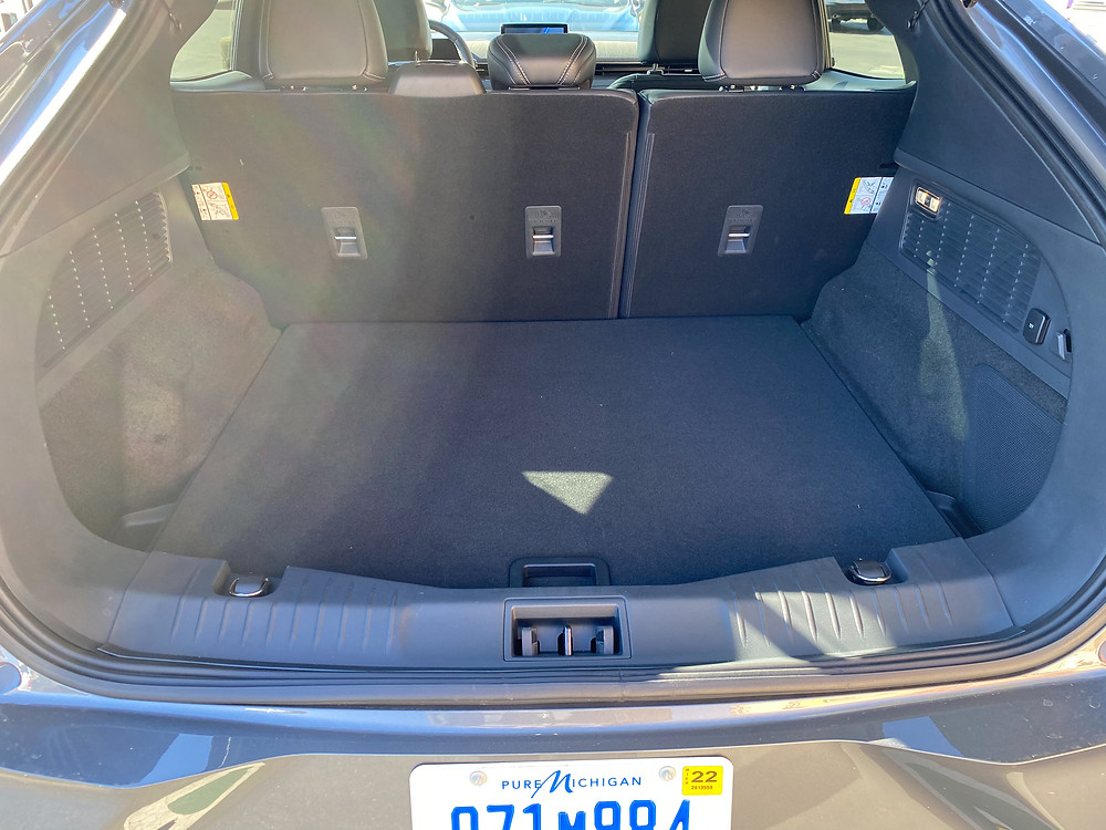 2021 Ford Mustang Mach-E cargo area