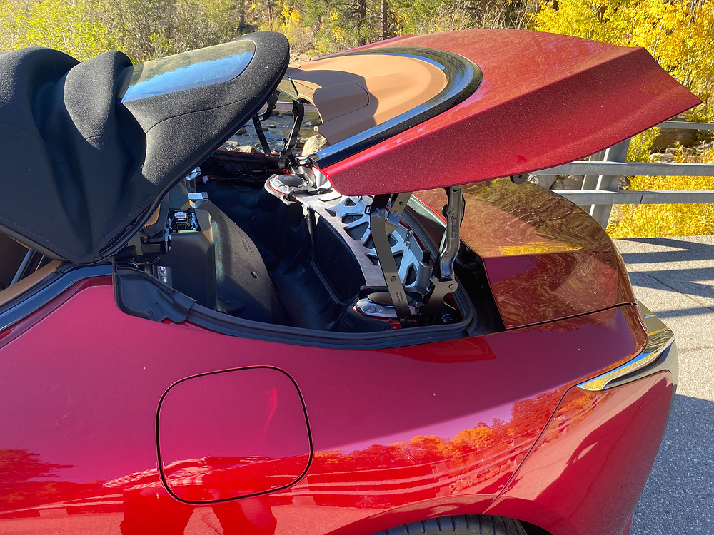2021 Lexus LC 500 Convertible top mechanism