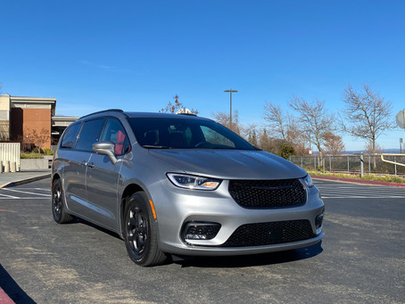 Minivan With Attitude: The 2021 Chrysler Pacifica Hybrid Limited with Red S Appearance Package