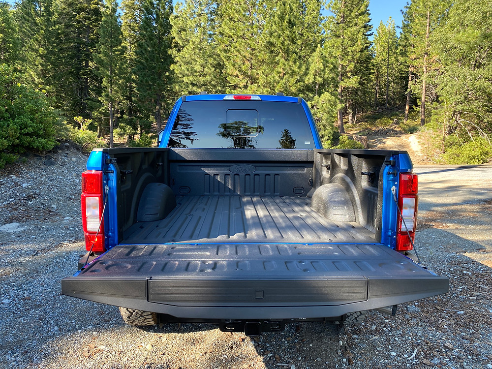 2021 Ford F-250 Tremor tailgate down