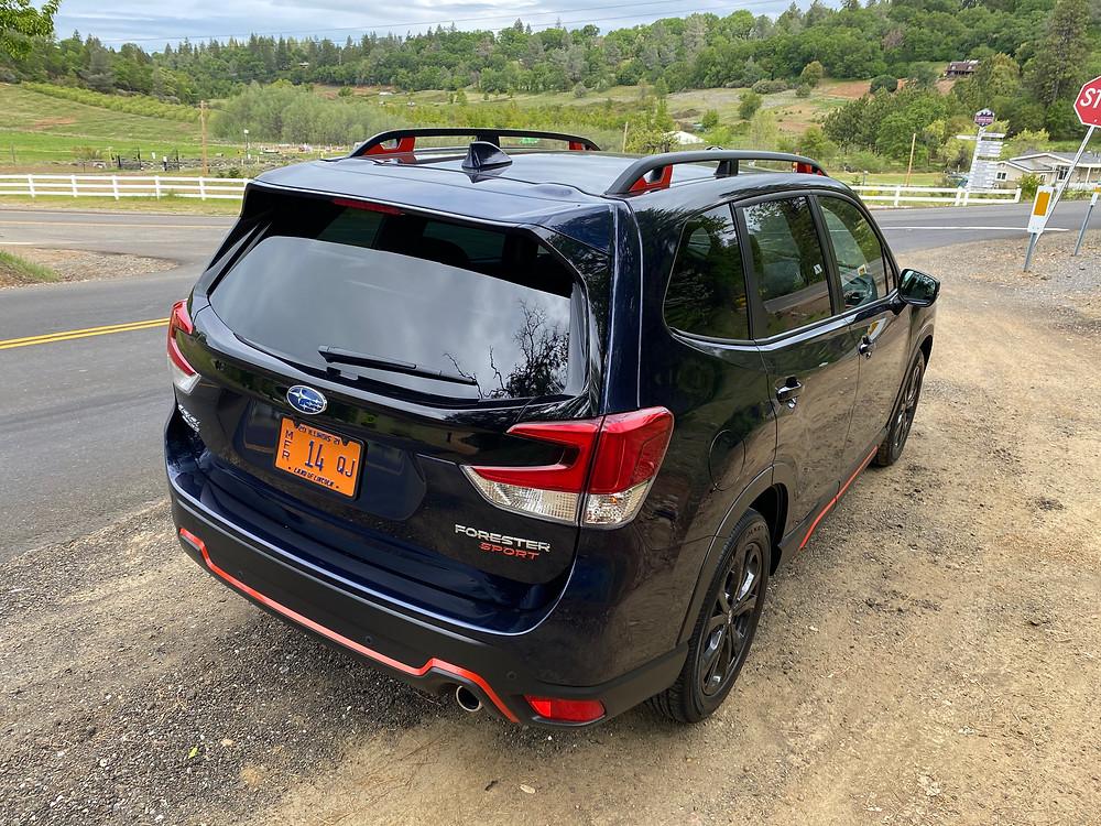 2021 Subaru Forester Sport rear 3/4 view