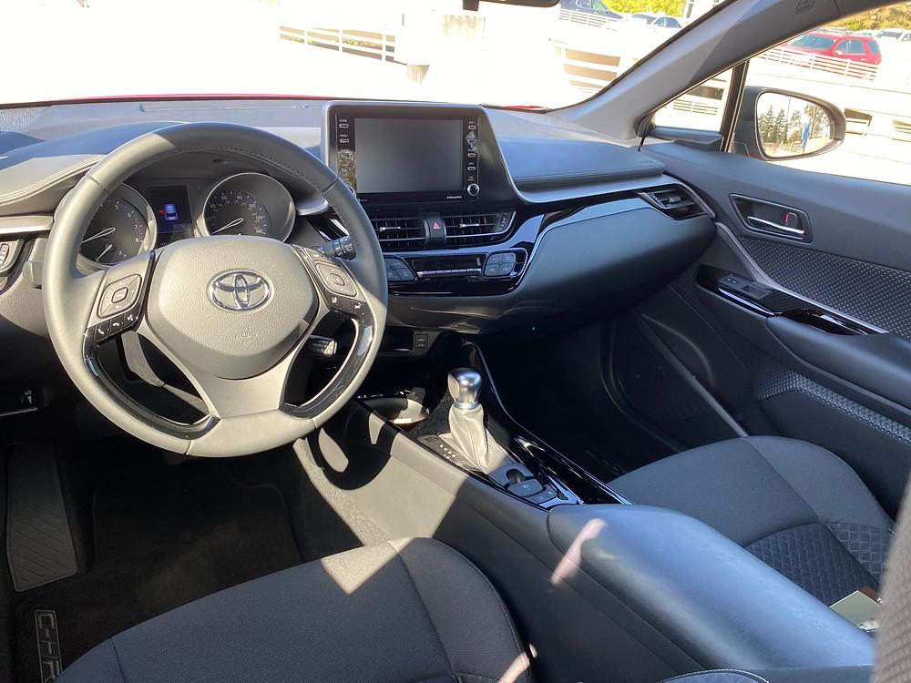 2021 Toyota C-HR Nightshade Edition instrument panel