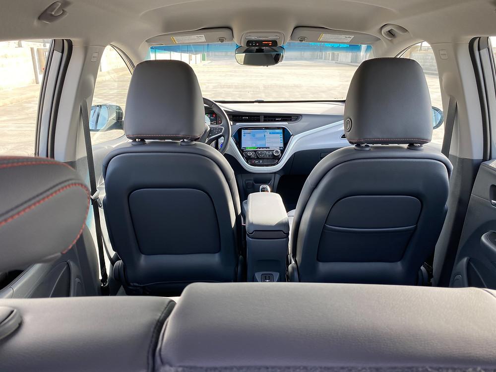 2020 Chevrolet Bolt EV Premier interior