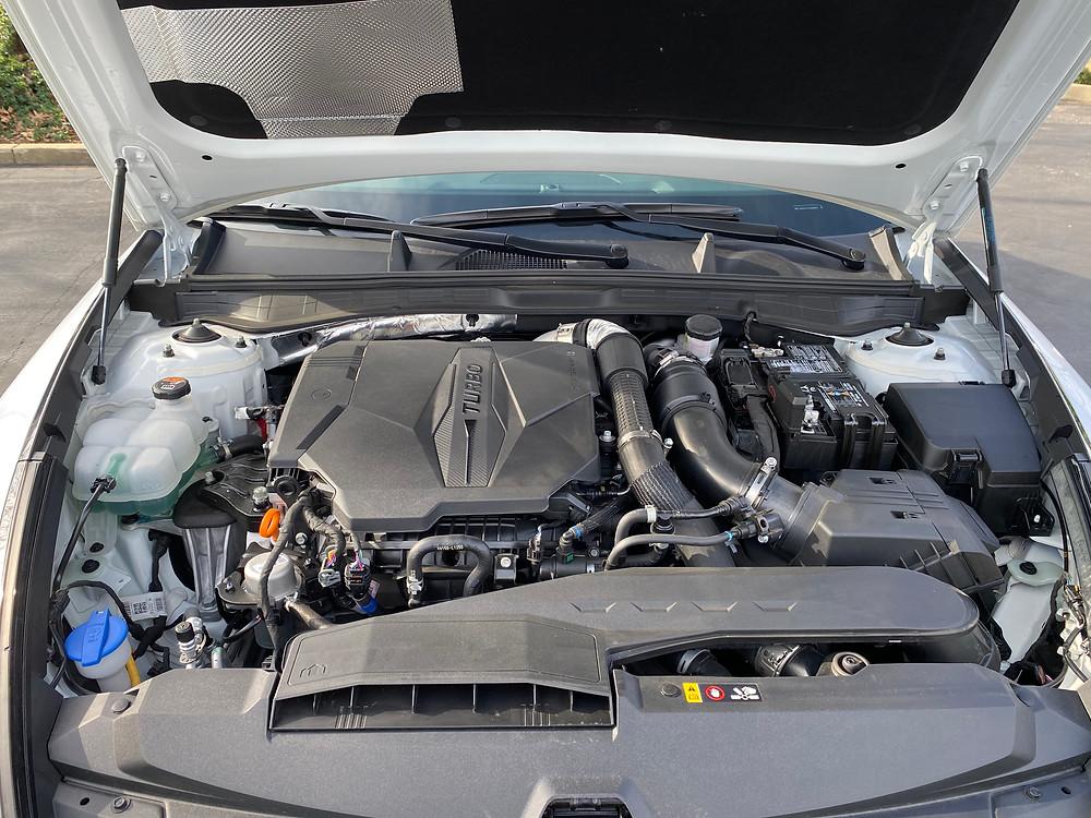2021 Hyundai Sonata N-Line engine