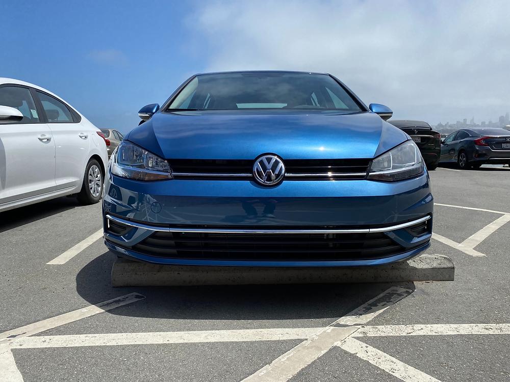 2021 Volkswagen Golf TSI front view