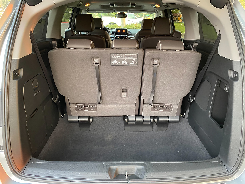2021 Honda Odyssey Elite cargo area