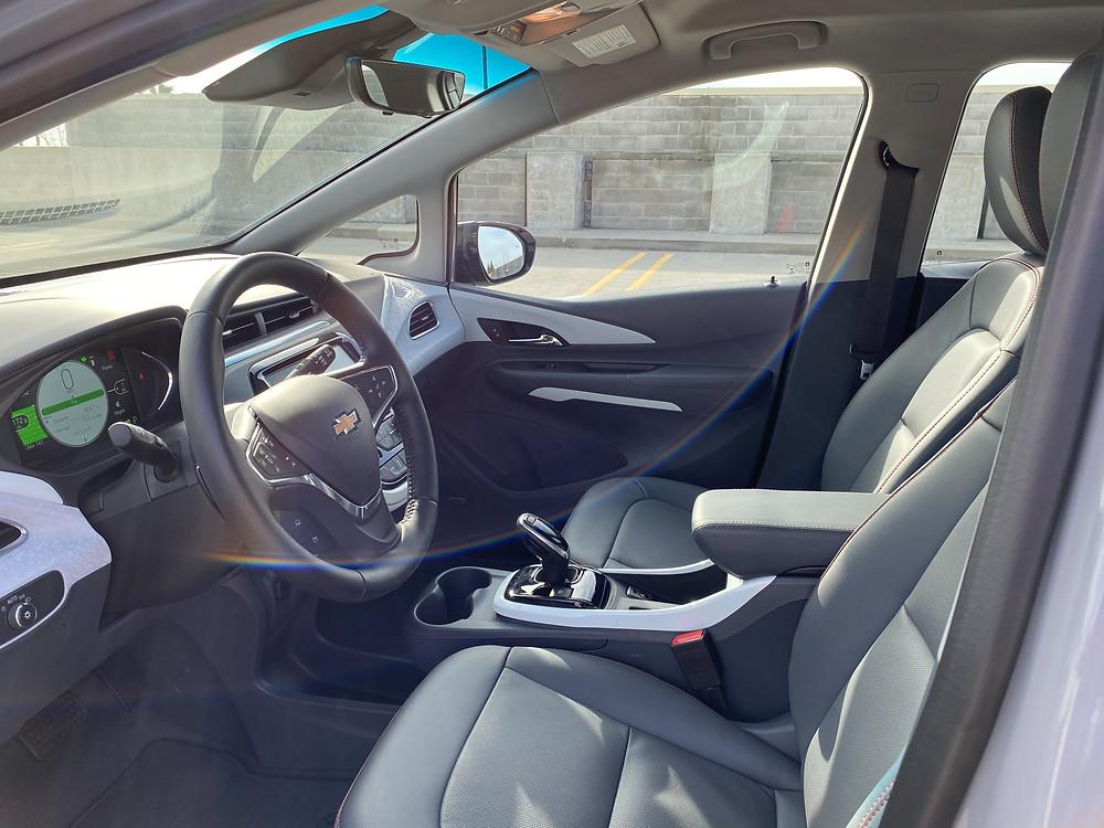 2020 Chevrolet Bolt EV Premier front seat
