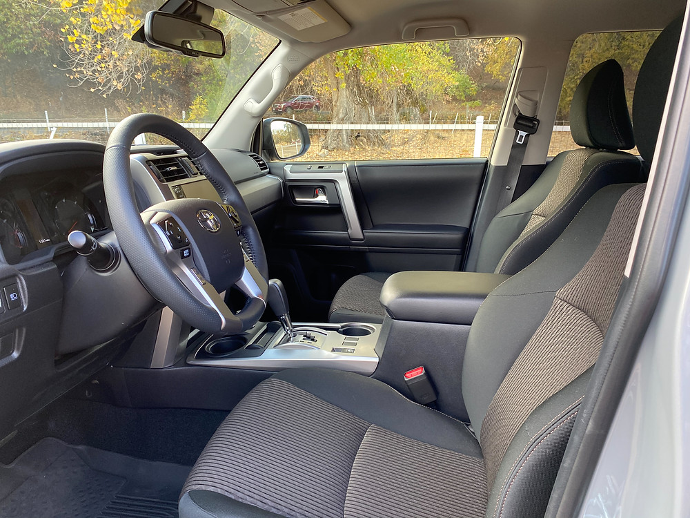 2021 Toyota 4Runner 4x4 Trail front seats