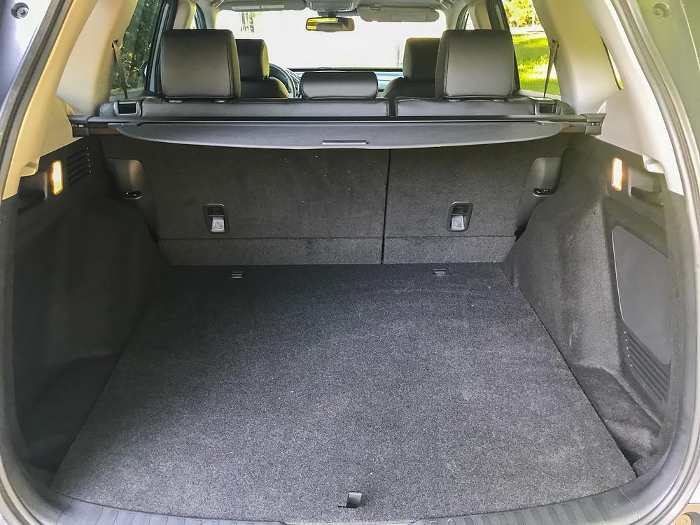 2020 Honda CR-V Hybrid Touring cargo area