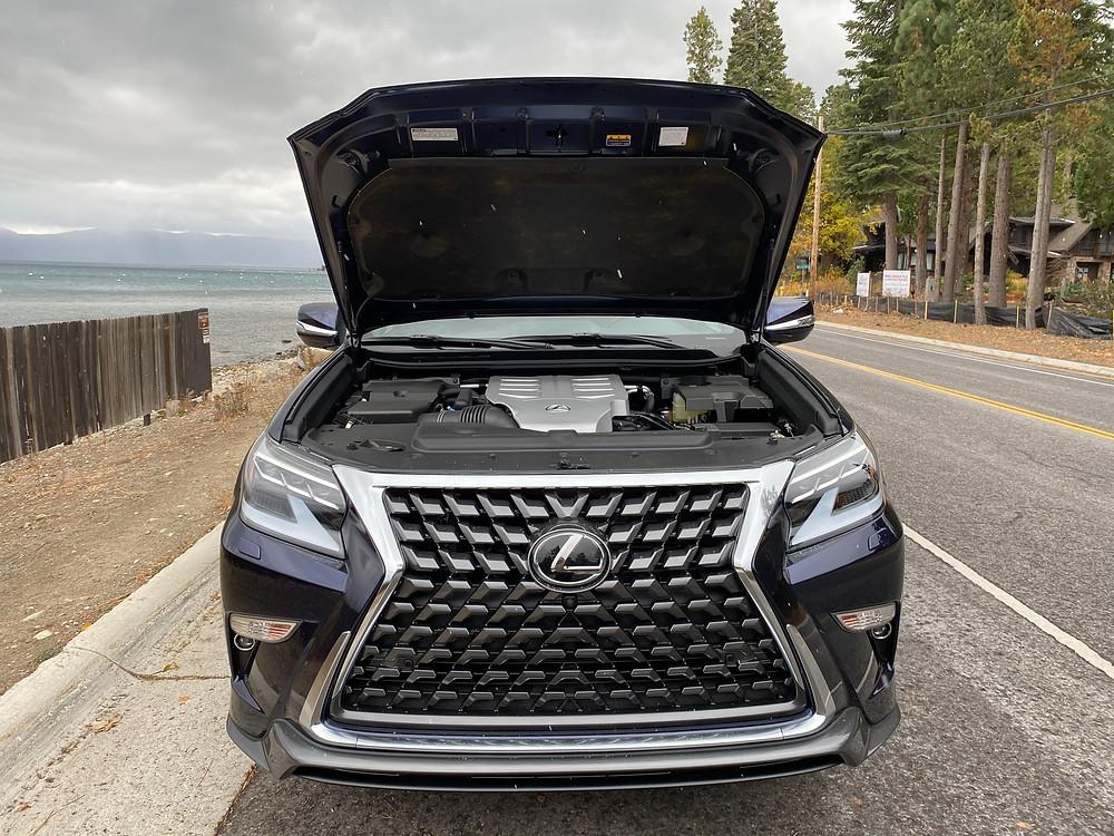 2021 Lexus GX460 hood up
