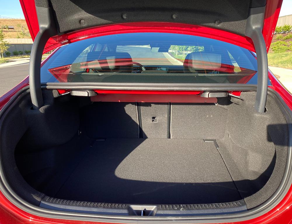2021 Mercedes-AMG A35 4MATIC trunk