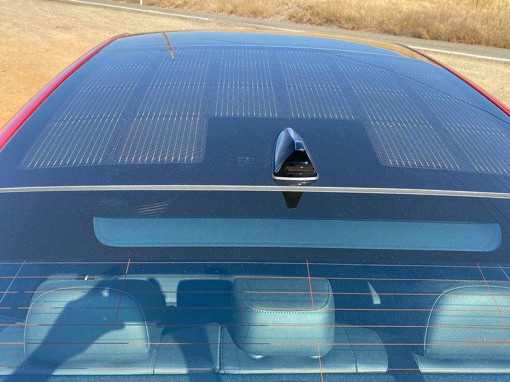2020 Hyundai Sonata Hybrid Limited solar roof
